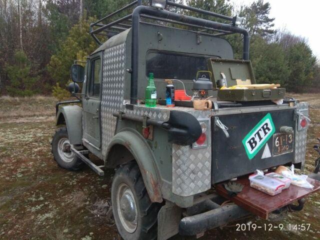 Зеленый ГАЗ 69, объемом двигателя 2.4 л и пробегом 12 тыс. км за 1654 $, фото 1 на Automoto.ua