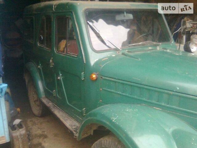 Зелений ГАЗ 69, об'ємом двигуна 2.4 л та пробігом 45 тис. км за 1600 $, фото 1 на Automoto.ua