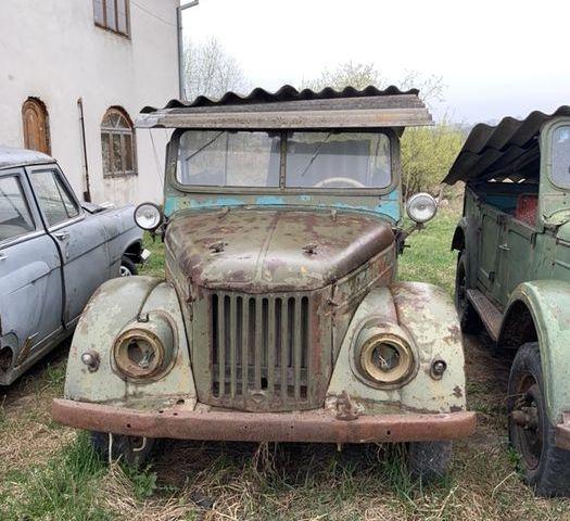 Зелений ГАЗ 69, об'ємом двигуна 2.1 л та пробігом 1 тис. км за 1200 $, фото 1 на Automoto.ua