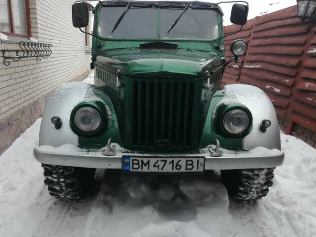 Зеленый ГАЗ 69, объемом двигателя 2.12 л и пробегом 35 тыс. км за 5000 $, фото 1 на Automoto.ua