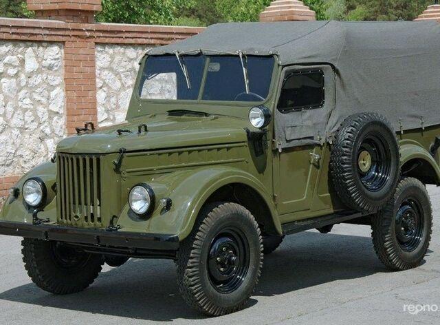 Зеленый ГАЗ 69, объемом двигателя 0 л и пробегом 20 тыс. км за 1000 $, фото 1 на Automoto.ua