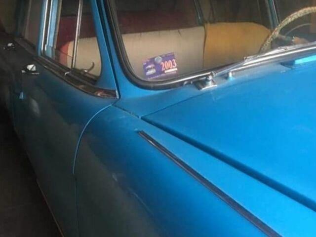 Голубой ГАЗ M21, объемом двигателя 2.4 л и пробегом 100 тыс. км за 1000 $, фото 1 на Automoto.ua