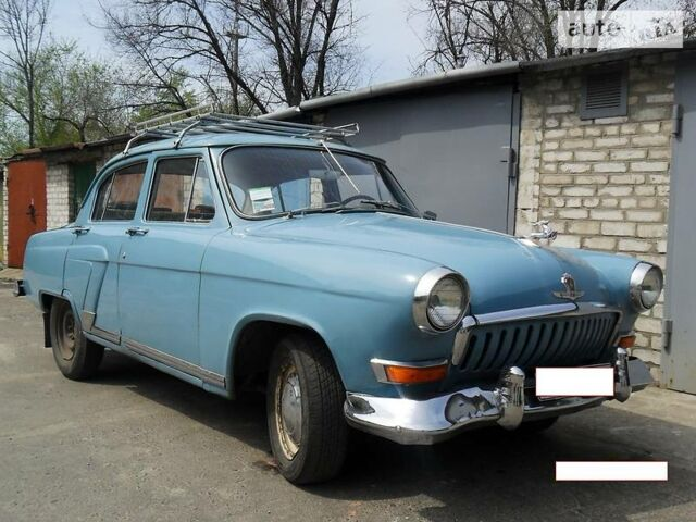 Голубий ГАЗ M21, об'ємом двигуна 2.5 л та пробігом 250 тис. км за 956 $, фото 1 на Automoto.ua