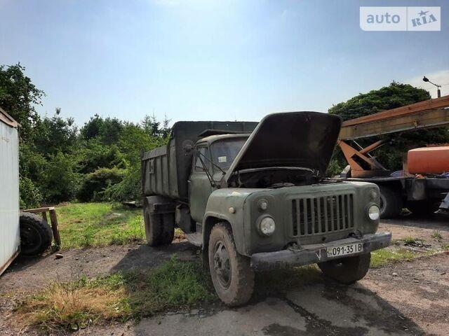 Зеленый ГАЗ САЗ 3502, объемом двигателя 6 л и пробегом 111 тыс. км за 1200 $, фото 1 на Automoto.ua