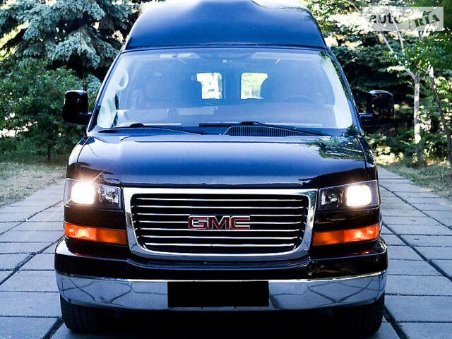 Черный ДжиЭмСи Савана, объемом двигателя 5.3 л и пробегом 124 тыс. км за 19990 $, фото 1 на Automoto.ua