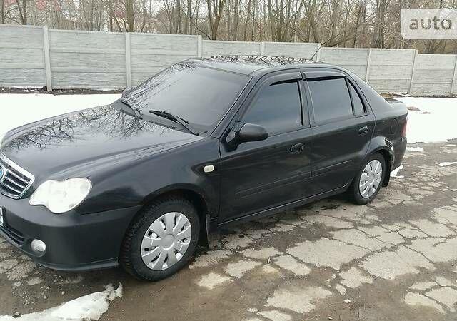 Чорний Джилі ЦК-2, об'ємом двигуна 1.6 л та пробігом 118 тис. км за 3300 $, фото 1 на Automoto.ua