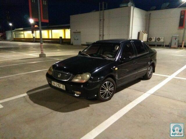 Черный Джили ЦК, объемом двигателя 1.6 л и пробегом 138 тыс. км за 2500 $, фото 1 на Automoto.ua