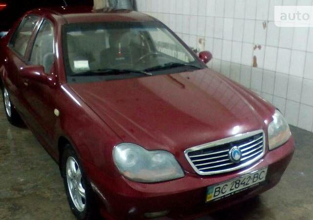 Красный Джили ЦК-1, объемом двигателя 1.5 л и пробегом 170 тыс. км за 2900 $, фото 1 на Automoto.ua