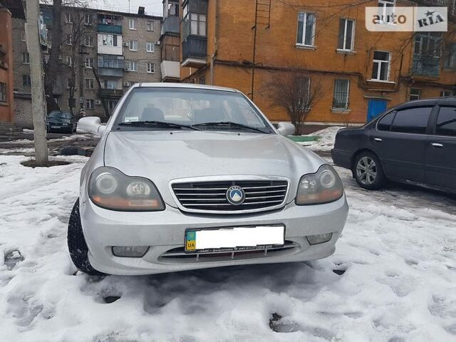 Срібний Джилі ЦК-1, об'ємом двигуна 1.5 л та пробігом 62 тис. км за 3700 $, фото 1 на Automoto.ua