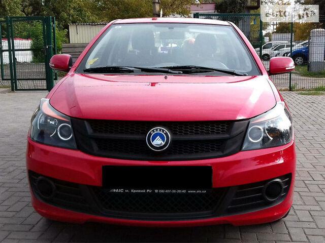 Красный Джили ГЦ6, объемом двигателя 1.5 л и пробегом 41 тыс. км за 6190 $, фото 1 на Automoto.ua