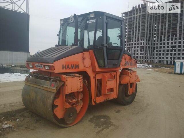 Оранжевый Хамм DV 6, объемом двигателя 5.2 л и пробегом 2 тыс. км за 36513 $, фото 1 на Automoto.ua