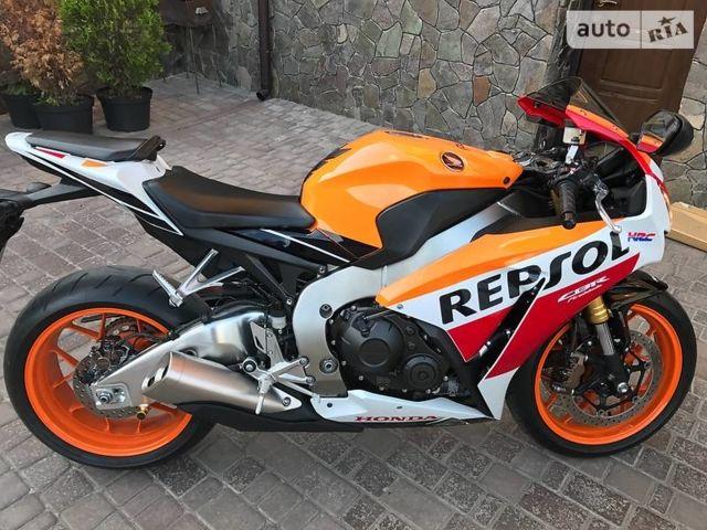 Апельсин Хонда ЦБР, об'ємом двигуна 1 л та пробігом 2 тис. км за 13500 $, фото 1 на Automoto.ua