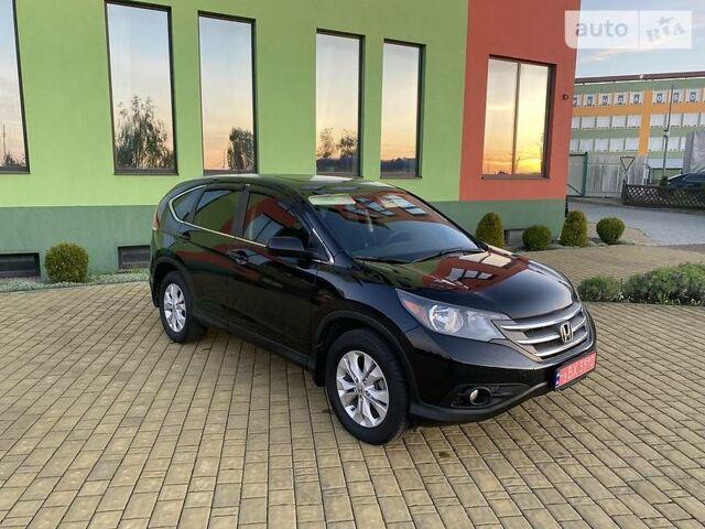 Черный Хонда СРВ, объемом двигателя 2.4 л и пробегом 238 тыс. км за 13700 $, фото 1 на Automoto.ua