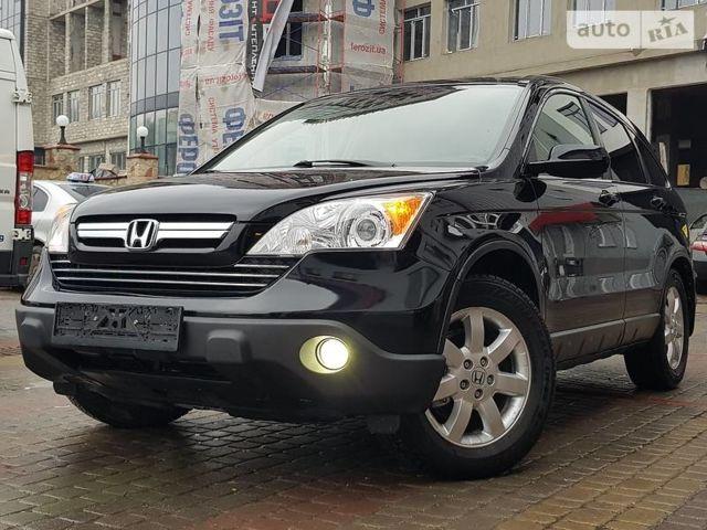 Чорний Хонда СРВ, об'ємом двигуна 2.4 л та пробігом 145 тис. км за 13200 $, фото 1 на Automoto.ua
