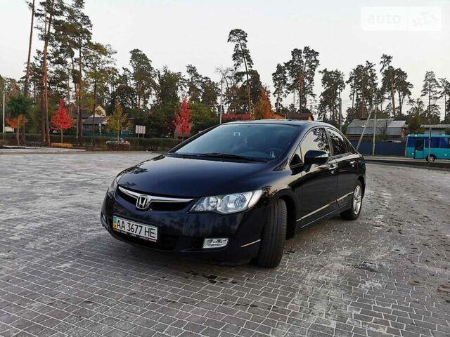 Черный Хонда Цивик, объемом двигателя 1.8 л и пробегом 211 тыс. км за 6500 $, фото 1 на Automoto.ua