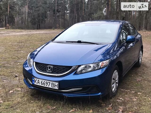 Синий Хонда Цивик, объемом двигателя 1.8 л и пробегом 134 тыс. км за 9999 $, фото 1 на Automoto.ua