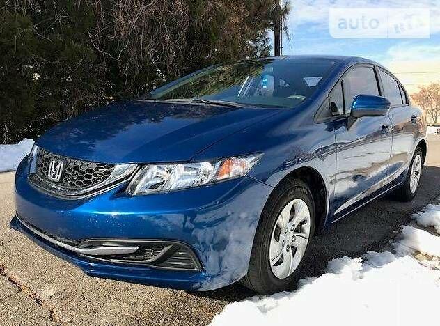 Синій Хонда Сівік, об'ємом двигуна 1.8 л та пробігом 65 тис. км за 12999 $, фото 1 на Automoto.ua
