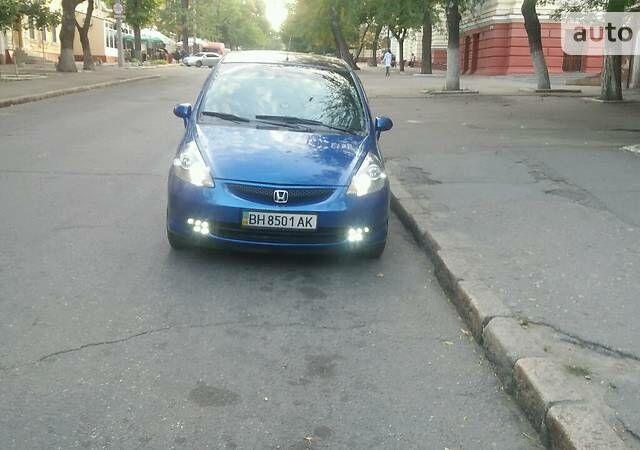 Синій Хонда Джаз, об'ємом двигуна 1.4 л та пробігом 215 тис. км за 4500 $, фото 1 на Automoto.ua