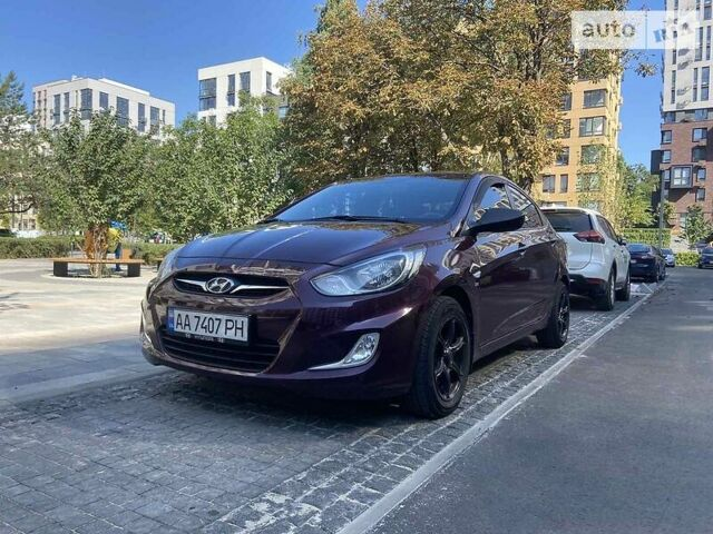Фиолетовый Хендай Акцент, объемом двигателя 1.6 л и пробегом 71 тыс. км за 10100 $, фото 1 на Automoto.ua