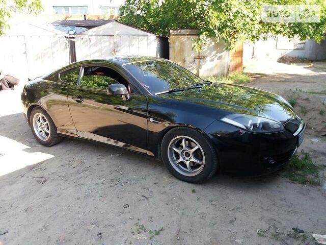 Черный Хендай Купе, объемом двигателя 2 л и пробегом 139 тыс. км за 7300 $, фото 1 на Automoto.ua