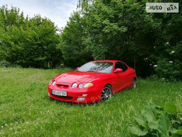 Красный Хендай Купе, объемом двигателя 2 л и пробегом 1 тыс. км за 4800 $, фото 1 на Automoto.ua