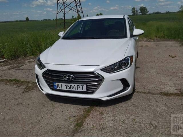Белый Хендай Элантра, объемом двигателя 2 л и пробегом 20 тыс. км за 13100 $, фото 1 на Automoto.ua