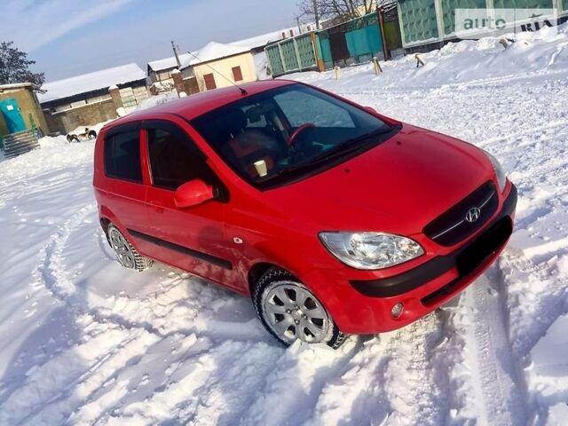 Красный Хендай Гетц, объемом двигателя 1.4 л и пробегом 81 тыс. км за 7699 $, фото 1 на Automoto.ua