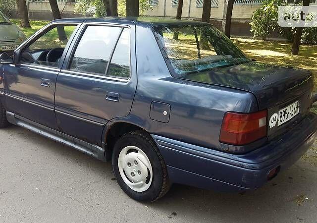 Синій Хендай Поні, об'ємом двигуна 1.5 л та пробігом 150 тис. км за 1250 $, фото 1 на Automoto.ua
