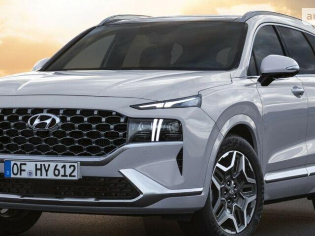купить новое авто Хендай Санта Фе 2021 года от официального дилера АВТОПАЛАЦ ТЕРНОПІЛЬ Хендай фото
