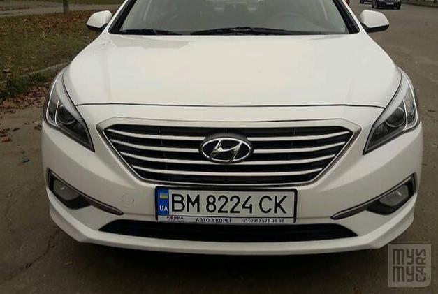 Белый Хендай Соната, объемом двигателя 2 л и пробегом 335 тыс. км за 11700 $, фото 1 на Automoto.ua
