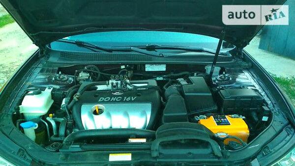 Гранатовий Хендай Соната, об'ємом двигуна 2 л та пробігом 149 тис. км за 8500 $, фото 1 на Automoto.ua