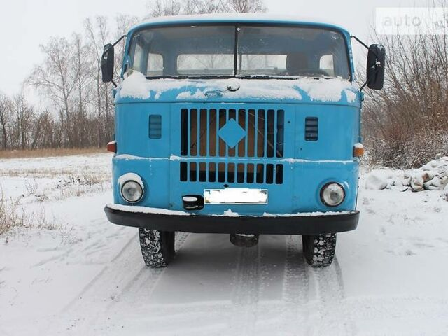 Синий ИФА В50, объемом двигателя 5 л и пробегом 1 тыс. км за 2200 $, фото 1 на Automoto.ua