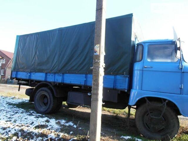Синий ИФА В50, объемом двигателя 6.5 л и пробегом 100 тыс. км за 3000 $, фото 1 на Automoto.ua