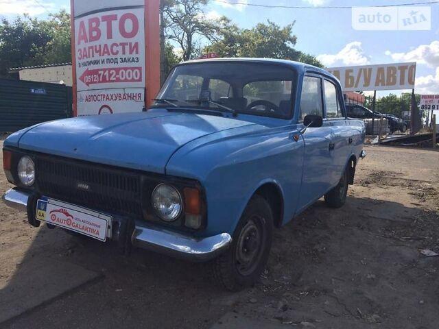Синий ИЖ 412, объемом двигателя 1.5 л и пробегом 1 тыс. км за 949 $, фото 1 на Automoto.ua