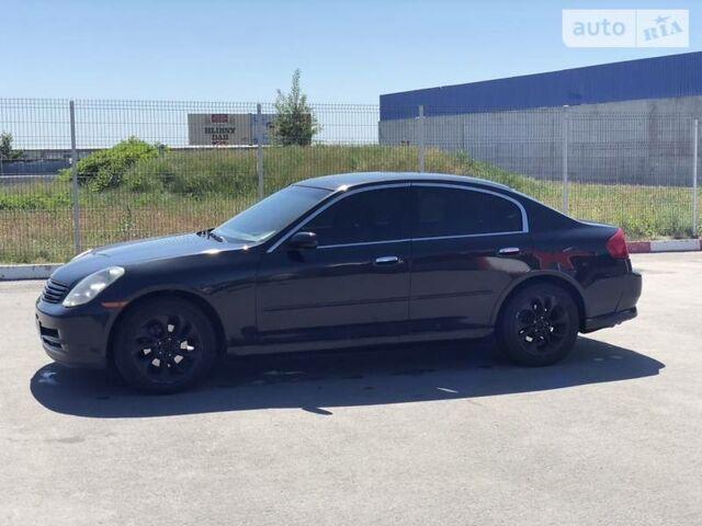 Чорний Інфініті Г, об'ємом двигуна 3.5 л та пробігом 175 тис. км за 7500 $, фото 1 на Automoto.ua