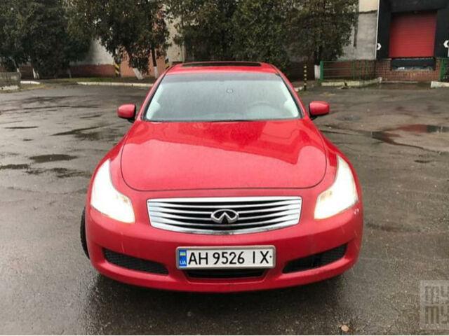 Красный Инфинити Г, объемом двигателя 3.5 л и пробегом 126 тыс. км за 8900 $, фото 1 на Automoto.ua