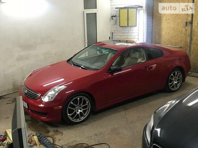 Червоний Інфініті Г, об'ємом двигуна 3.5 л та пробігом 68 тис. км за 11500 $, фото 1 на Automoto.ua