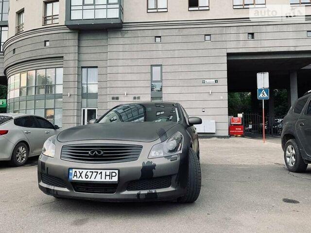 Серый Инфинити Г, объемом двигателя 3.5 л и пробегом 237 тыс. км за 10599 $, фото 1 на Automoto.ua