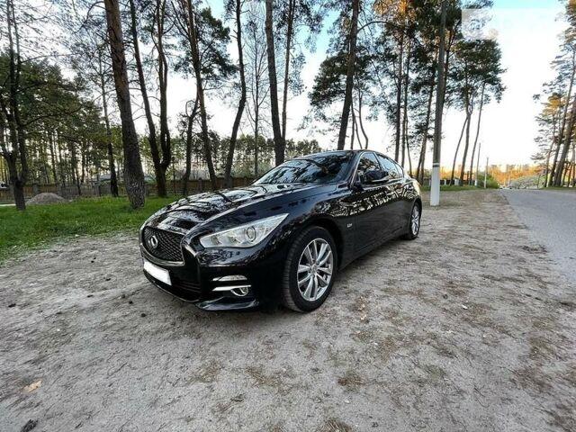 Черный Инфинити Q50, объемом двигателя 2.1 л и пробегом 130 тыс. км за 17499 $, фото 1 на Automoto.ua