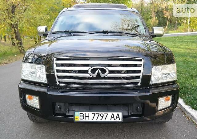 Черный Инфинити КХ, объемом двигателя 5.6 л и пробегом 212 тыс. км за 15000 $, фото 1 на Automoto.ua