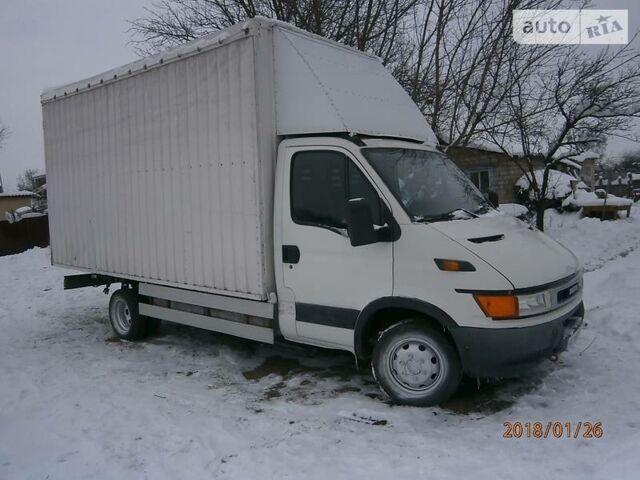 Белый Ивеко Дейли 4x4, объемом двигателя 2.3 л и пробегом 100 тыс. км за 8200 $, фото 1 на Automoto.ua