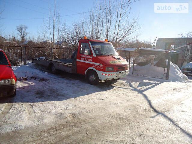 Червоний Івеко Daily груз., об'ємом двигуна 2.5 л та пробігом 255 тис. км за 6500 $, фото 1 на Automoto.ua