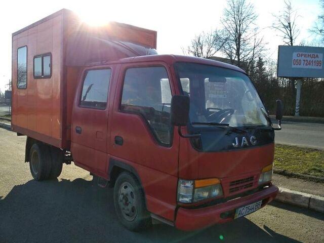 Красный Джак ХФЦ, объемом двигателя 2.5 л и пробегом 258 тыс. км за 3500 $, фото 1 на Automoto.ua