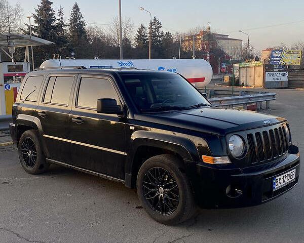 Черный Джип Патриот, объемом двигателя 2.4 л и пробегом 188 тыс. км за 10000 $, фото 1 на Automoto.ua