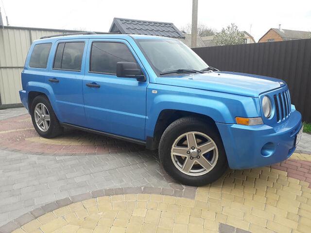Синий Джип Патриот, объемом двигателя 2.4 л и пробегом 140 тыс. км за 8999 $, фото 1 на Automoto.ua