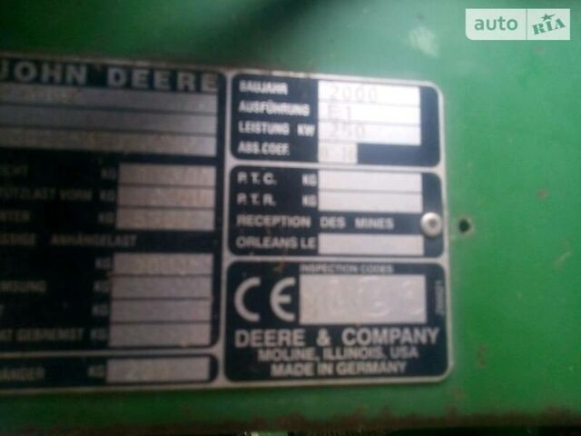 Зеленый Джон Дир 2266, объемом двигателя 0 л и пробегом 10 тыс. км за 32000 $, фото 1 на Automoto.ua
