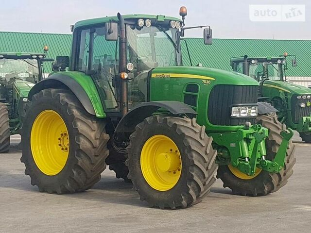Зеленый Джон Дир 7530, объемом двигателя 6.8 л и пробегом 1 тыс. км за 67000 $, фото 1 на Automoto.ua