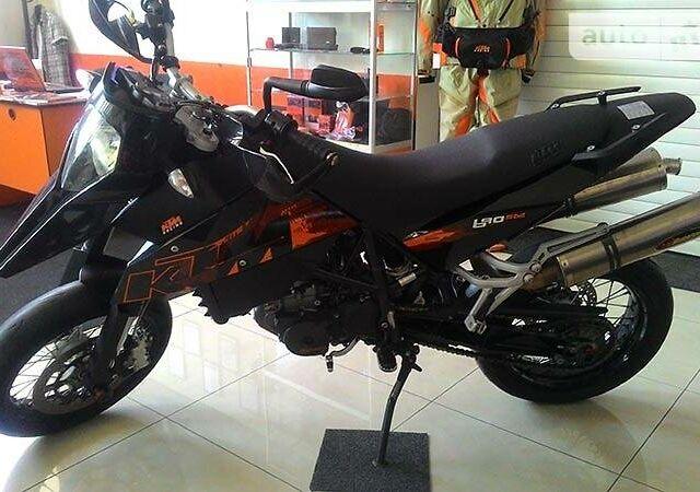 Черный КТМ 690, объемом двигателя 0.69 л и пробегом 29 тыс. км за 4500 $, фото 1 на Automoto.ua