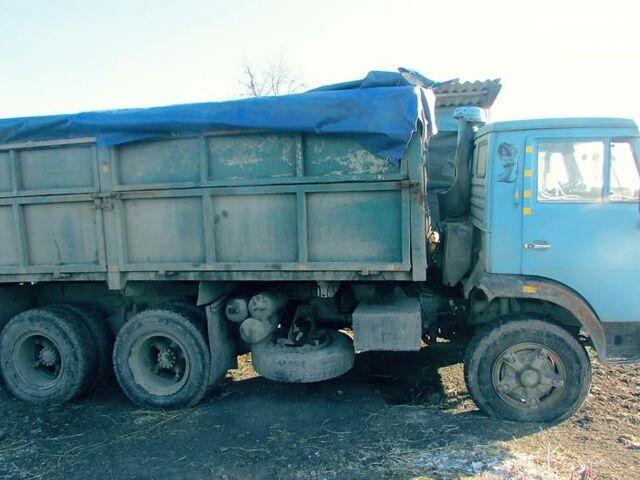 Синий КамАЗ 5320, объемом двигателя 10.85 л и пробегом 200 тыс. км за 7000 $, фото 1 на Automoto.ua