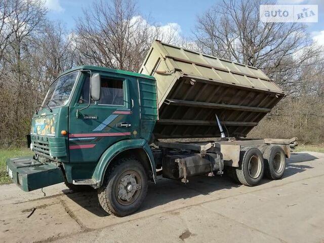 Зеленый КамАЗ 53213, объемом двигателя 0 л и пробегом 100 тыс. км за 6500 $, фото 1 на Automoto.ua